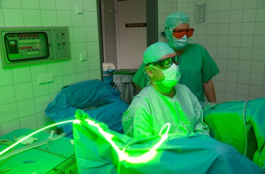 Greenlight-Laser Klinik für Urologie